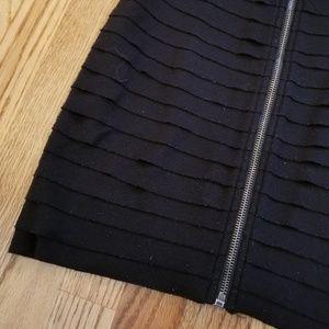 Urban Outfitters Skirts - UO Black Textured High-Waist Pencil Skirt, Medium